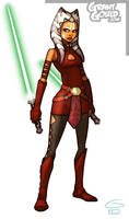 Ahsoka Tano: Season 3 New Look by grantgoboom