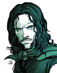 Aragorn: Ranger of the North by grantgoboom