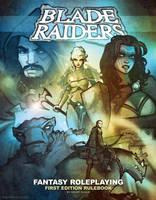 BLADE RAIDERS rulebook cover art by grantgoboom