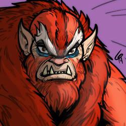 MOTU: Beast Man by grantgoboom