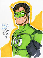 Green Lantern by grantgoboom