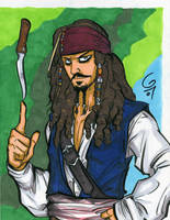 Jack Sparrow by grantgoboom