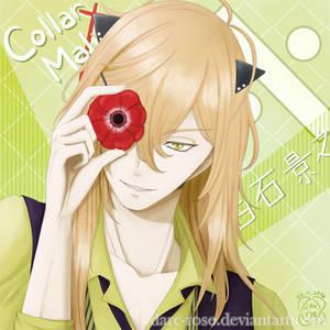 Shiraishi Kageyuki - Collar x Malice by darc-rose