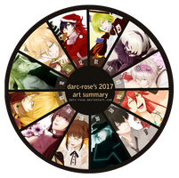 2017 Art Summary by darc-rose
