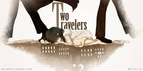 [VN] Two Travellers - banner by darc-rose