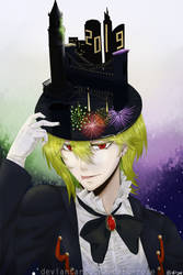 Hat #3 - New Year ver. by darc-rose