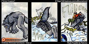 Ordinary Werewolf Adventures - Winter Foraging by Kigai-Holt