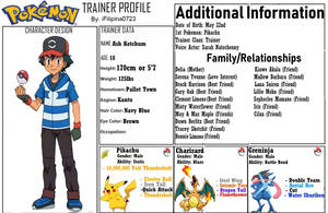 Pokemon Tribulations: Ash Profile (Blank Period) by Quasar1007