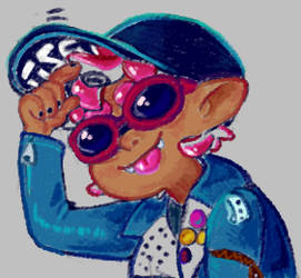 squid kid qid skuid by Myeth