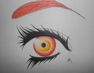 Eye of the Phoenix by 88Black-Rose88