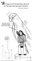 Thangorodrim comic by Elenai