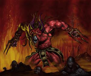 Demon Lord by Spazwerks