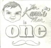 Kana'i Man is ONE by Su-Zie