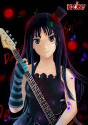 Akiyama Mio by subaru01rins
