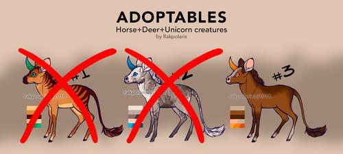 Unicorn Adoptables [OPEN] by RakPolaris