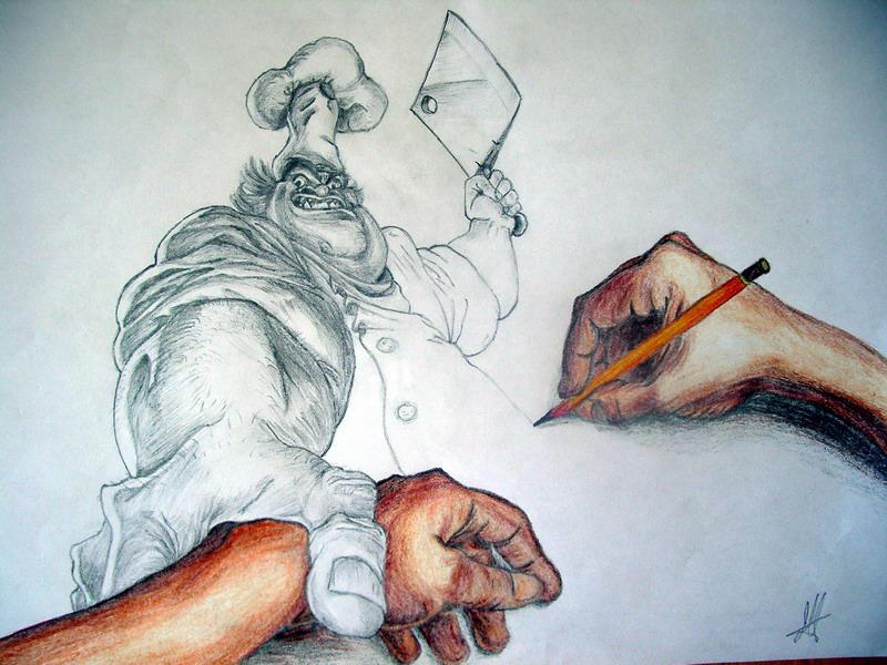 Hands by violetspirit