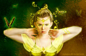 Butterfly Touch by doredore