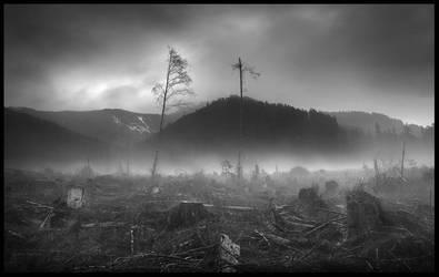 Left to Die by MarcAdamus