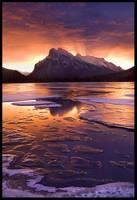 Ice Lake Dawn by MarcAdamus