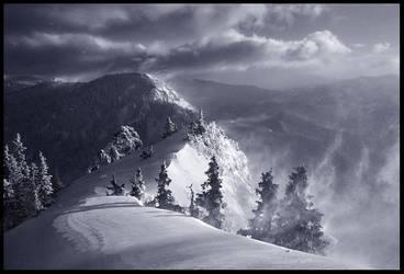 The Summit Ridge by MarcAdamus
