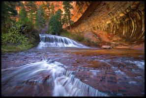 Sandstone Falls by MarcAdamus