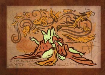 Orange Incense by PlainYellowFox