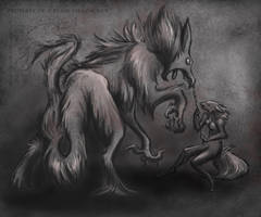 Hippogryph by PlainYellowFox