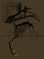 Hinting Deer by PlainYellowFox