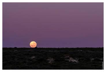 Puesta de luna by oxzidized
