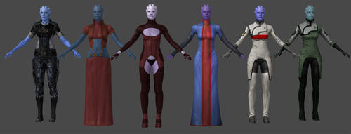 Asari Casual Pack by nach77
