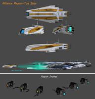 Alliance Repair-Tow - Firefly Class by nach77