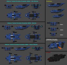 Alliance Tactical Gunship/Dropship A64 by nach77
