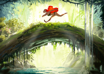 Jungle run thumbnail by CamaraSketch
