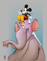 Mickey by CamaraSketch