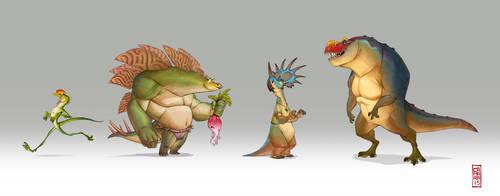 4 friends by CamaraSketch