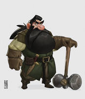 Dwarf by CamaraSketch