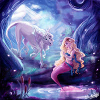 DTIYS - Mermaids And Unicorns by Wiccatwolf
