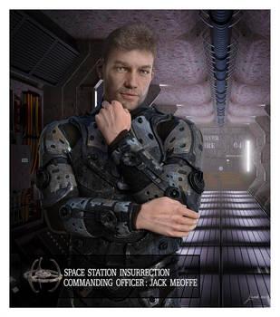 Commander Jack Meoffe Spacestation Insurrection by 12CArt