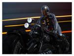 HI TECH MOTORCYCLE AND RIDER V1 by 12CArt