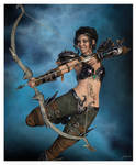 Amira The Young Archer Post by 12CArt