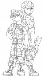 Soldiers... by trinityrenee