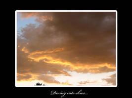 Diving into skies by trinityrenee