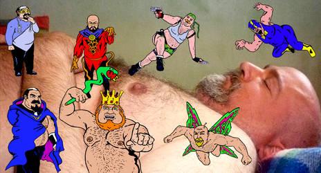 Cartoon dreams by Perdidobear