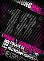 Geburtstags Flyer by Tobiz