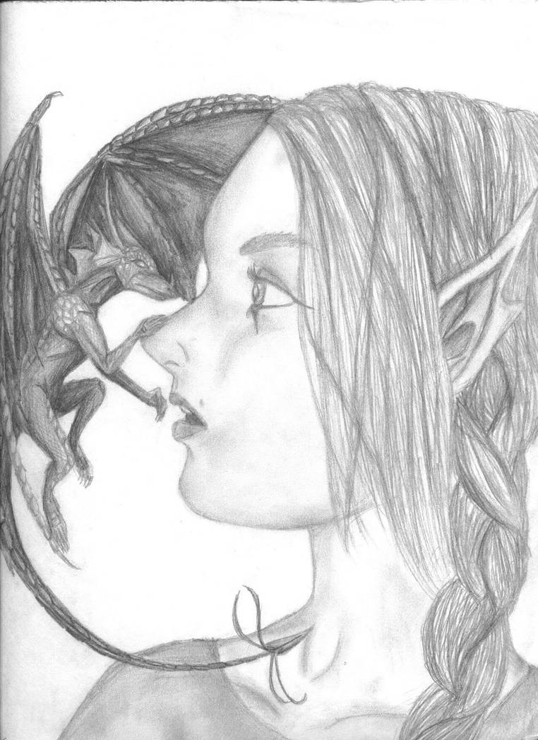 Her Dragon Sighting by cyborgagent017