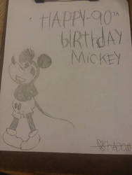 happy birthday mickey mouse by shadowslayer23