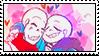 fontcest stamp by smol-skeleton