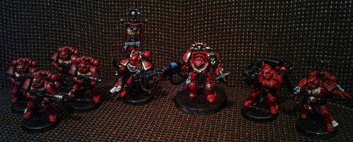 Blood angel's Vedros detachment by Naarok0fKor