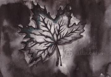 The Leaf Inktober #6 by AG-sArt