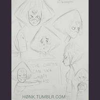 Peridot Doodles by H0nk-png